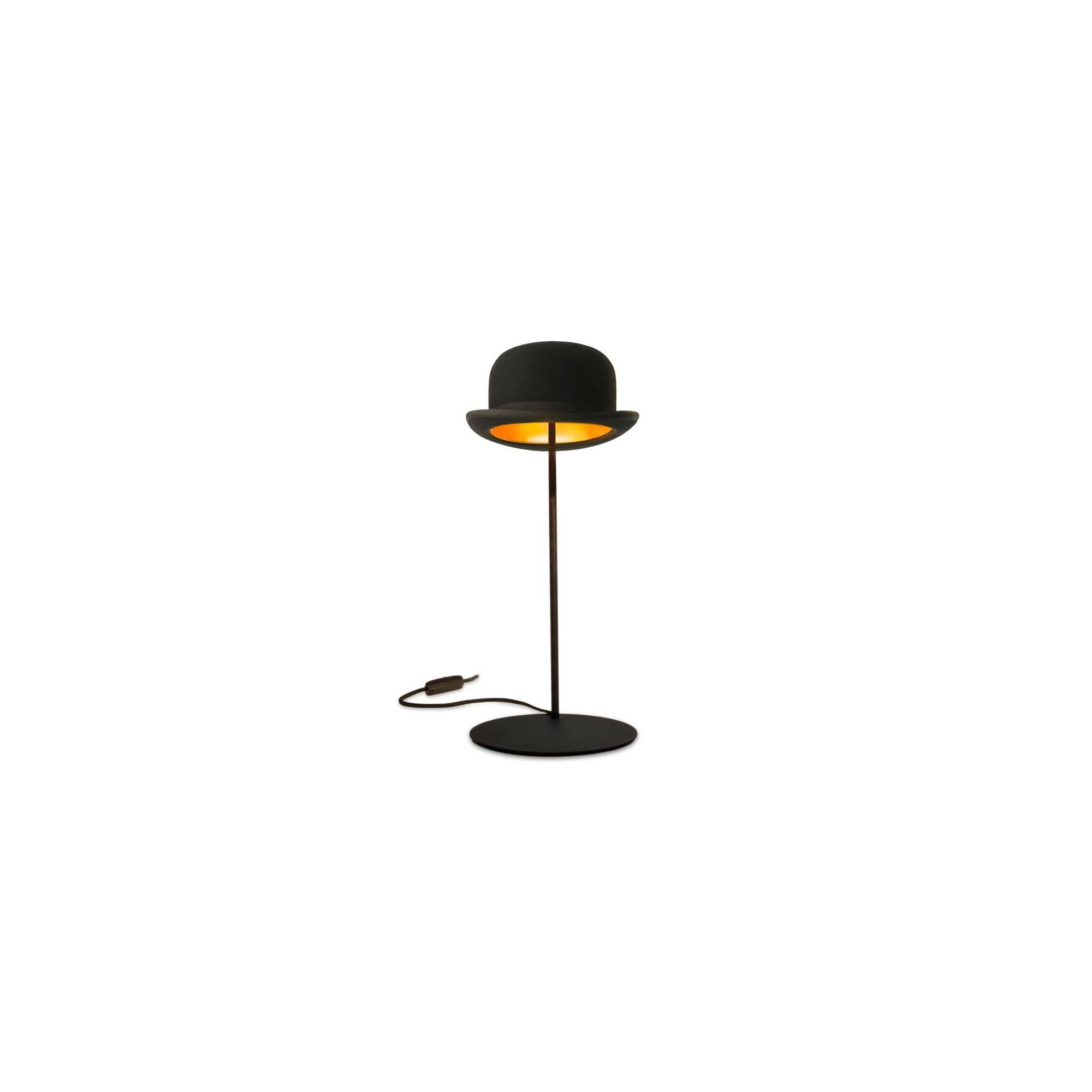 lampe poser en forme de chapeau melon par innermost. Black Bedroom Furniture Sets. Home Design Ideas