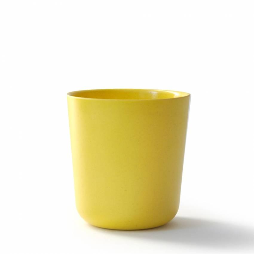 GUSTO BIOBU le verre bambou jaune - Ekobo