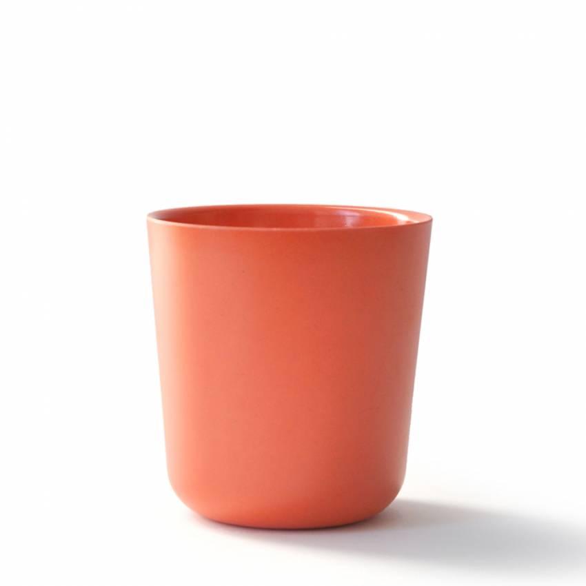 GUSTO BIOBU le verre bambou orange - Ekobo
