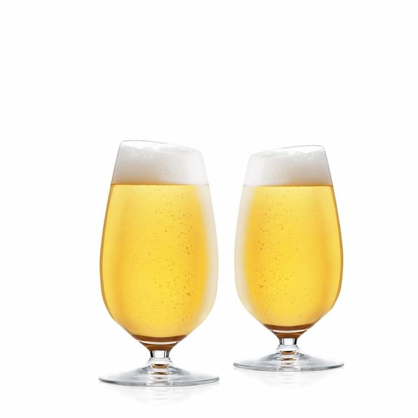 Duo de verre à bière ventru 35 cl - Eva Solo