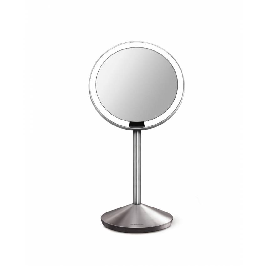 Petit miroir à capteur de voyage