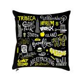 """Coussin """"New York"""""""