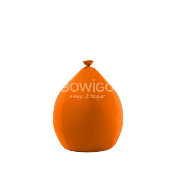 Assise BALOON Small creative orange indoor - Younow