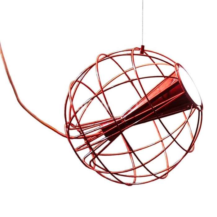 Luminaire Innermost - Suspension Latitude rouge