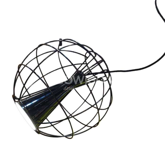 Luminaire Innermost - Suspension Latitude noir