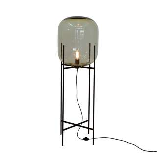 Lampe ODA BIG / Ambre base noir
