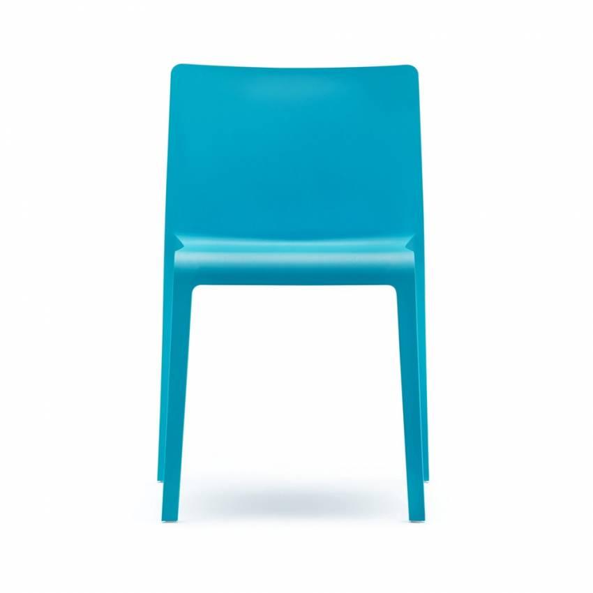 Lot de 4 chaise VOLT 670 / Bleu