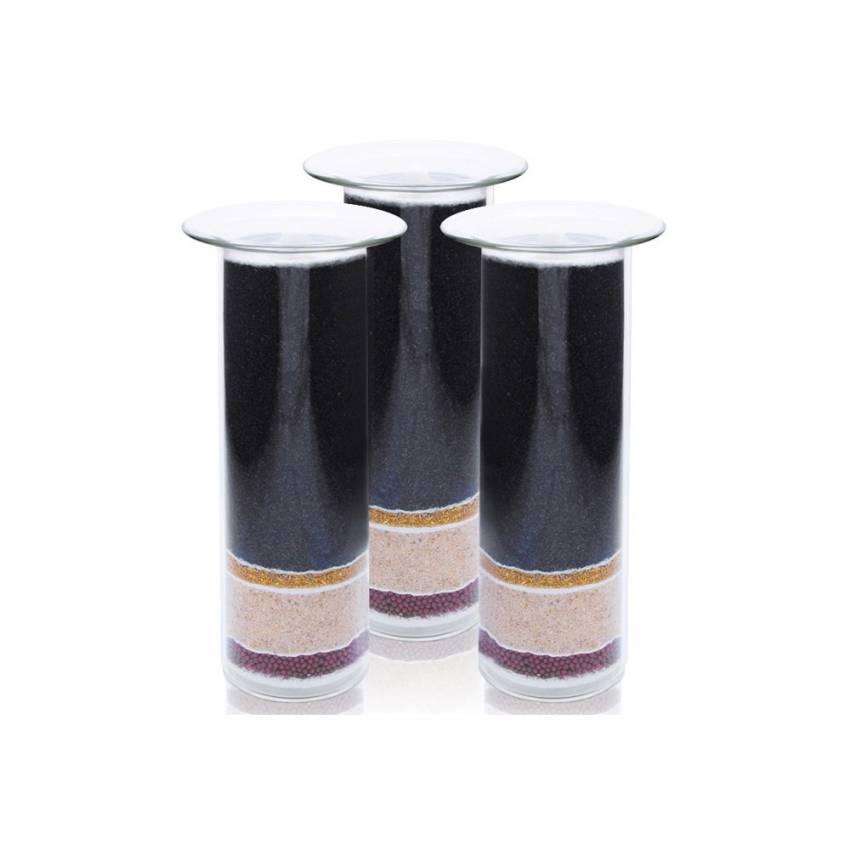 1 an de cartouches de filtration Aquachristal pour fontaine Aquaovo