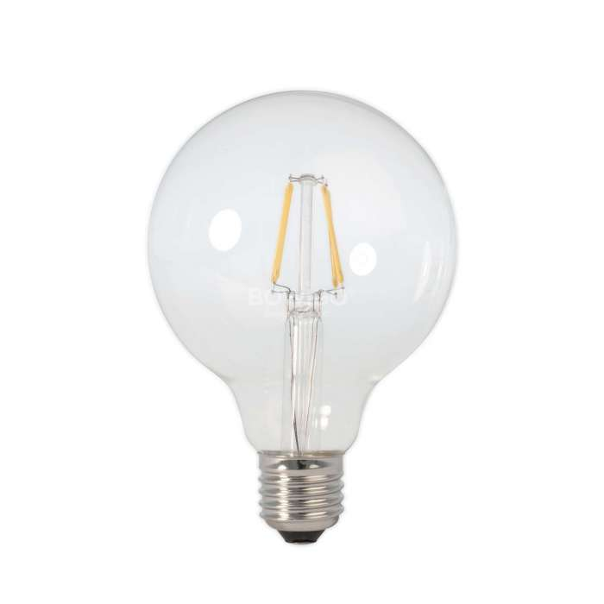 Ampoule LED rustique dorée filament / culot E27