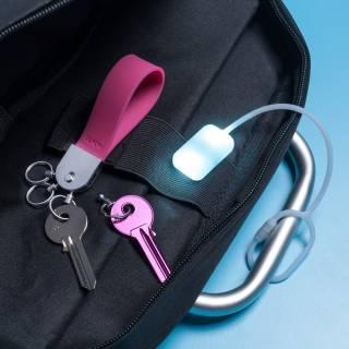 Lampe pour sac à main Bag Light bleu - Lexon