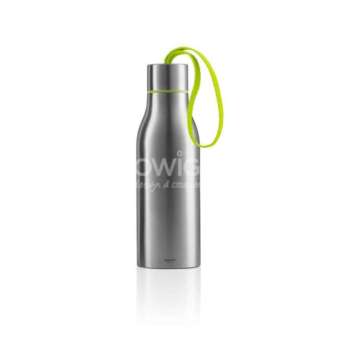 Bouteille isotherme THERMO FLASK 0,5L vert lime - Eva Solo