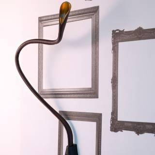 Luminaire Innermost - Lampe murale COBRA marron