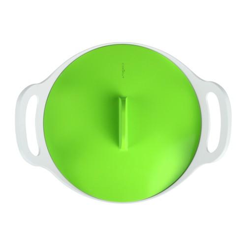 Cocotte céramique induction Ø 24 cm / Vert
