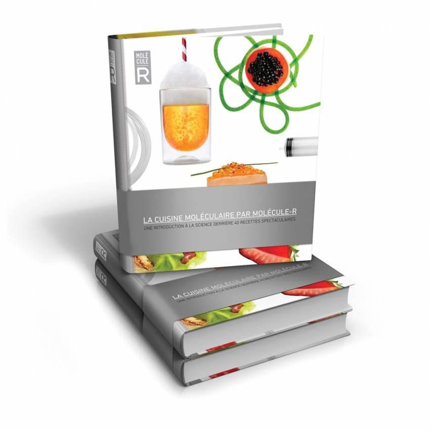 Livre de recettes de cuisine moléculaire - Molécule-R