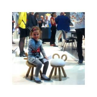 Tabouret MOUTON pour les enfants - Mobilier EO Danemark