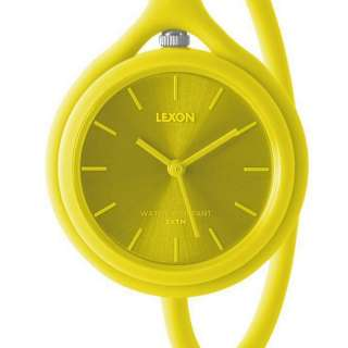 Montre mixte Take Time Original jaune - Lexon