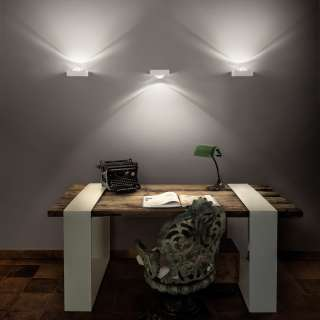 Luminaire Studio Italia - Applique murale carré LED SHELF