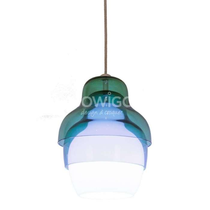 Suspension en verre MATRIOSHKA / Bleu / Innermost