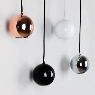 Suspension BOULE en métal / Blanc / Innermost