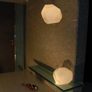 Lampe LED Asteroid Plastic white / blanc - Luminaire Innermost