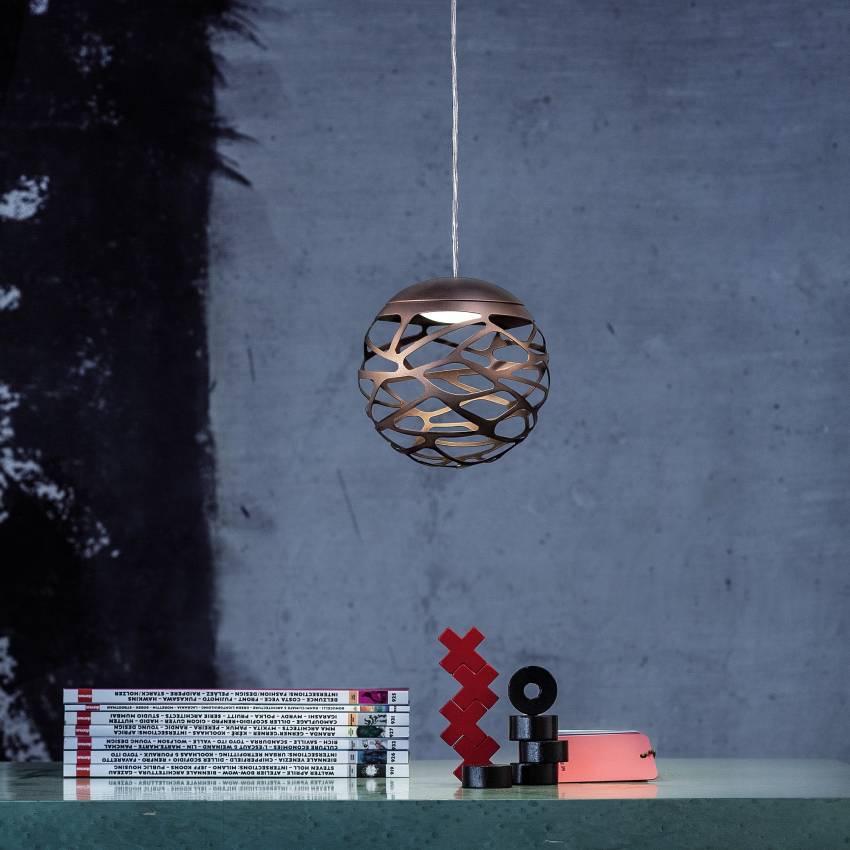 Luminaire Studio Italia - Suspension KELLY Cluster / 1 à 36 sphères bronze