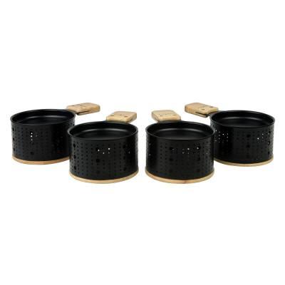 Raclette LUMI : 4 ustensiles pour raclette à la bougie