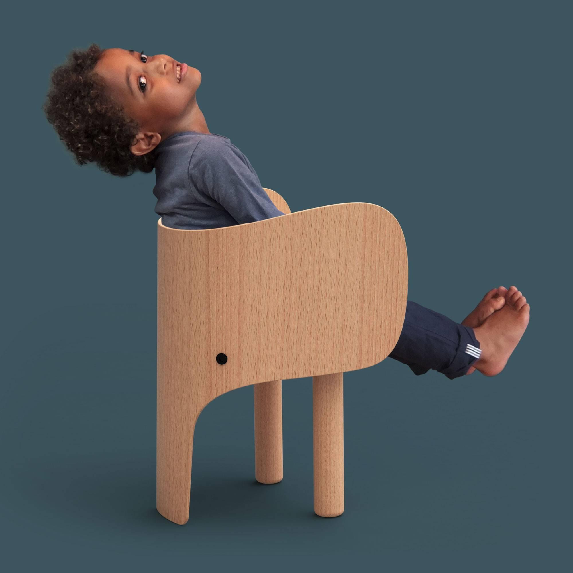 Eo denmark chaise elephant pour les enfants for Mobilier enfant