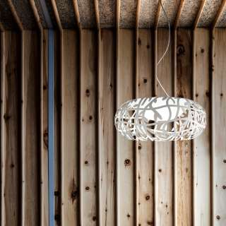 Suspension MAGGIO blanc - Luminaire Studio Italia