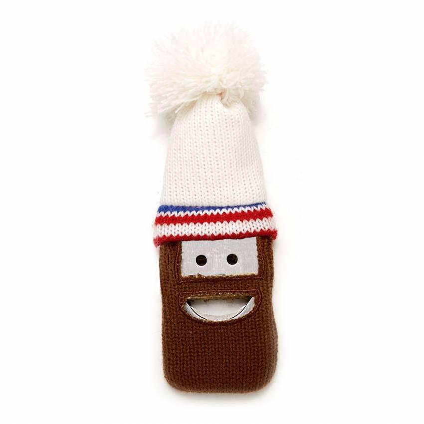 Décapsuleur BEERD bonnet blanc - Cookut