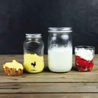 Bocal Mayozen pour faire de la mayonnaise - Cuisine Cookut