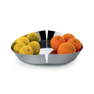 Porte-fruits Broken Bowl acier brillant - Alessi