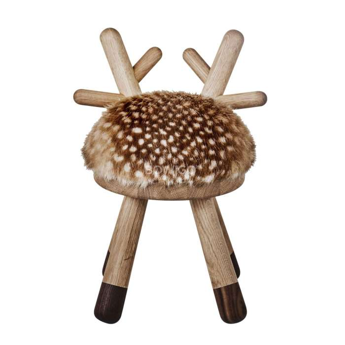 eo danemark petit tabouret bambi pour les enfants. Black Bedroom Furniture Sets. Home Design Ideas