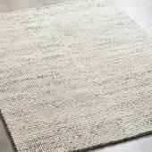Tapis BUBBLES laine feutrée / Gris