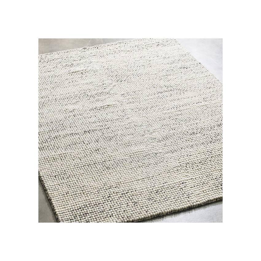 Tapis BUBBLE laine feutrée / Gris