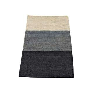 Tapis COLOR BLOCKS chanvre / Marin