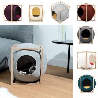 LE CUBE maison et griffoir pour chats - Meyou Paris