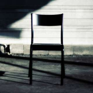 Chaise écolier vintage noir - La 510 Originale