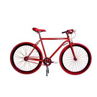 VTT urbain pour homme GRAMERCY rouge - Martone Cycling Co