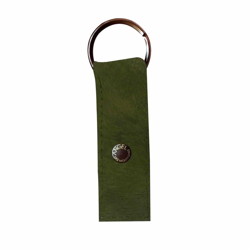 Porte-clés en peau véritable 10 teintes - Angel des Montagnes