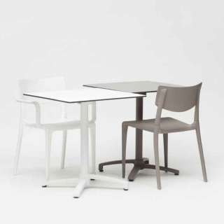 Table pliable outdoor KISO / Compact beige-sable