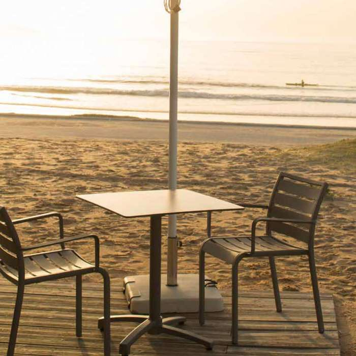 Table pliable outdoor KISO / Compact moka