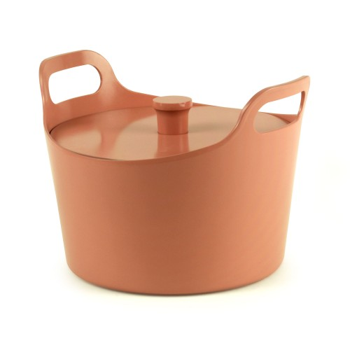 Cocotte céramique induction Ø 24 cm / Rose