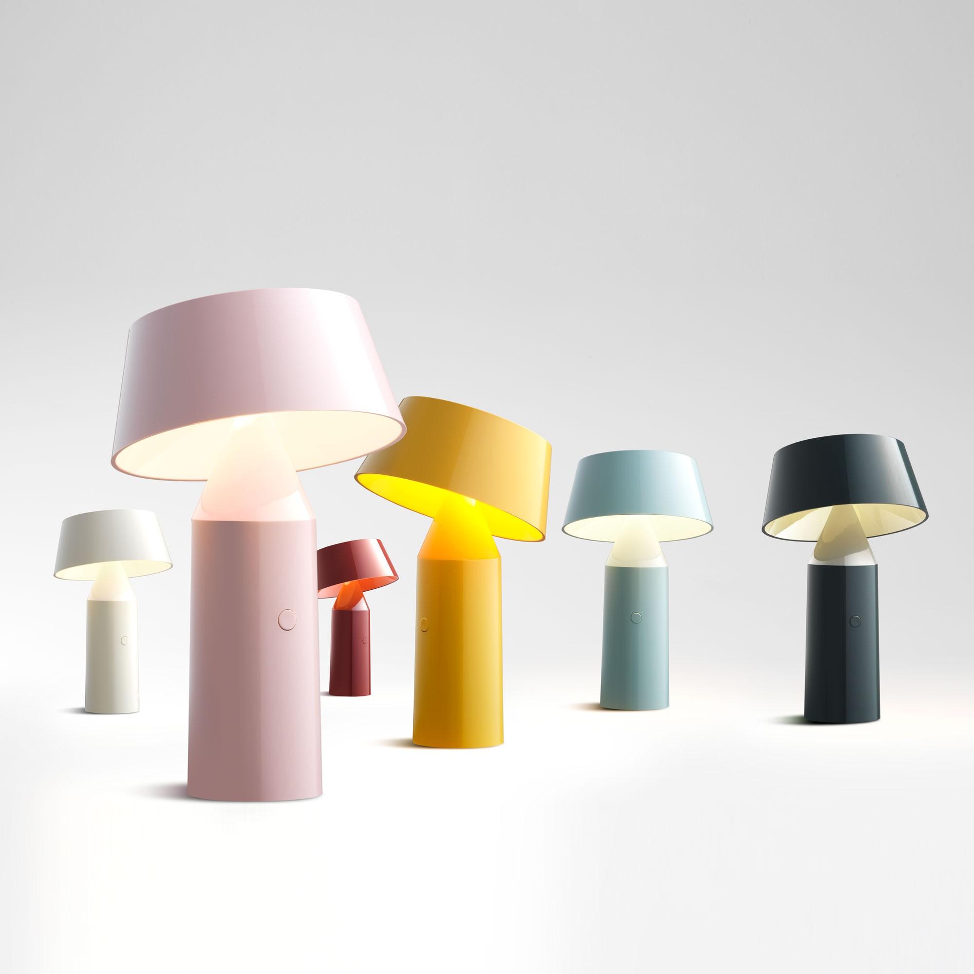Lampe de table BICOCA Sans Fils sur Batterie 6 coloris