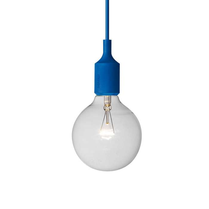 Suspension E27 bleu - Muuto