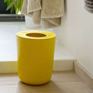Poubelle BANO jaune pour salle de bain - Ekobo