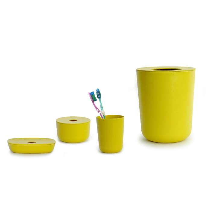 Set de Salle de Bain BANO jaune - Ekobo