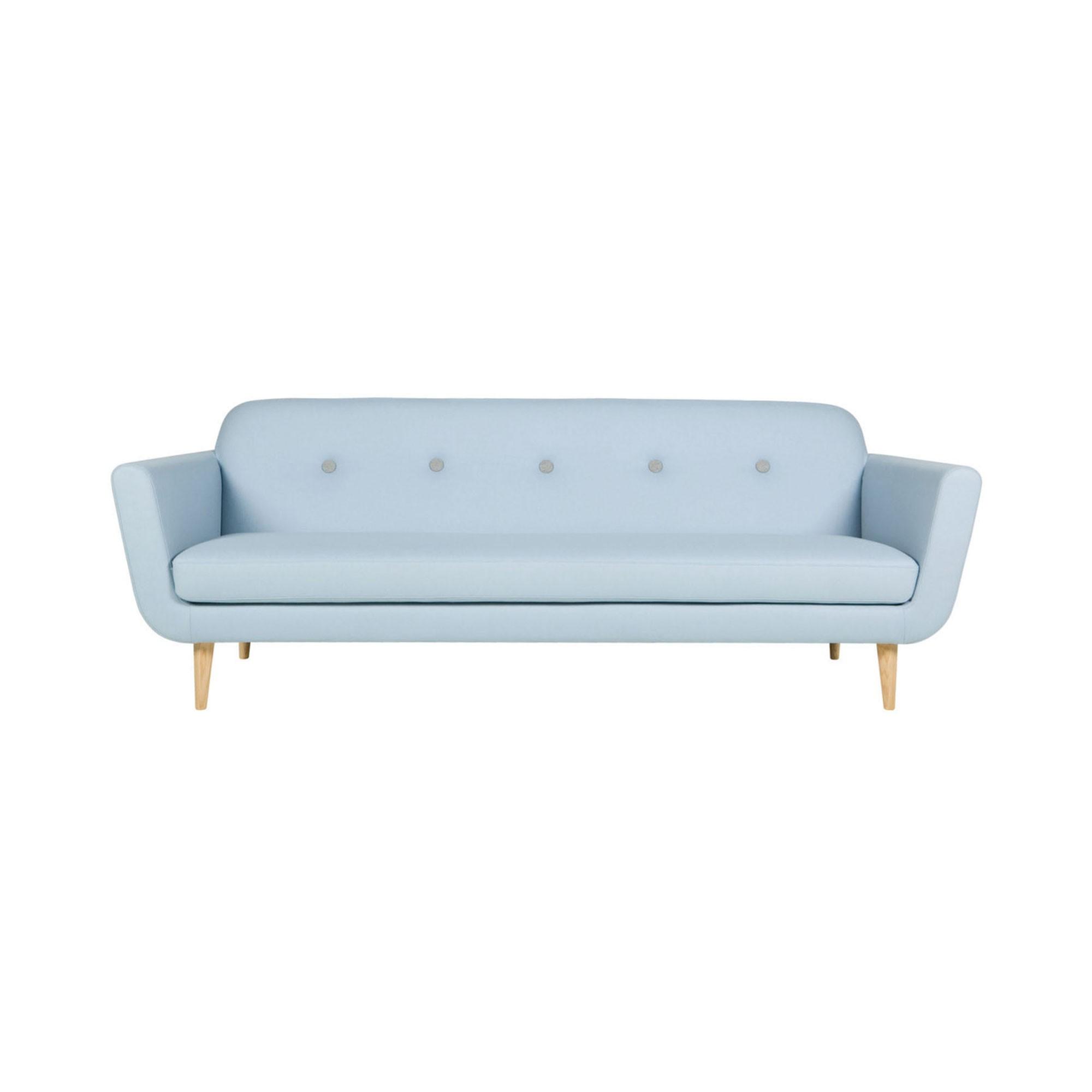 Sits / Canapé OTTO style années 50 bleu