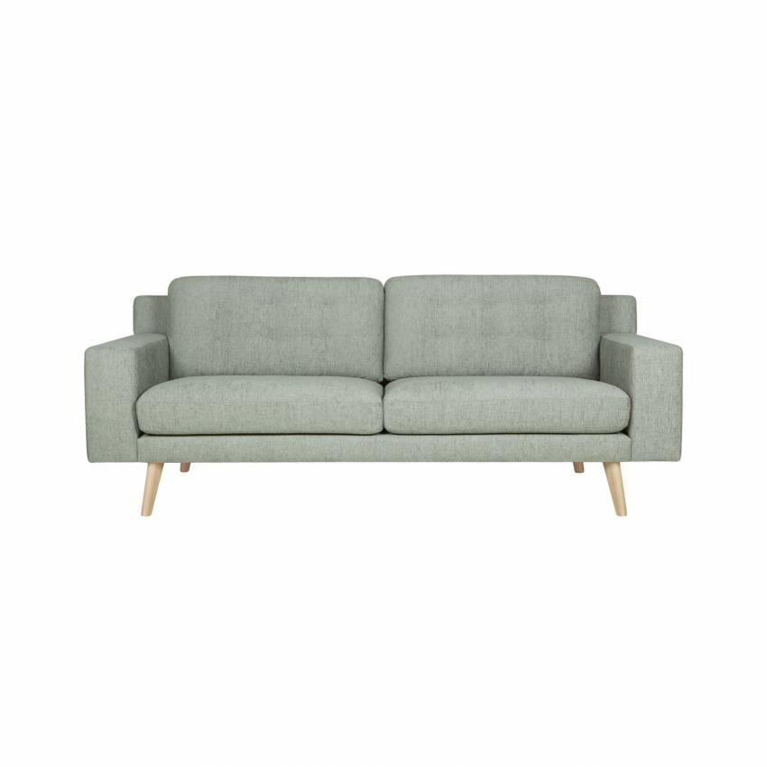 Sits / Canapé AXEL 2 ou 3 places tissu gris bleu