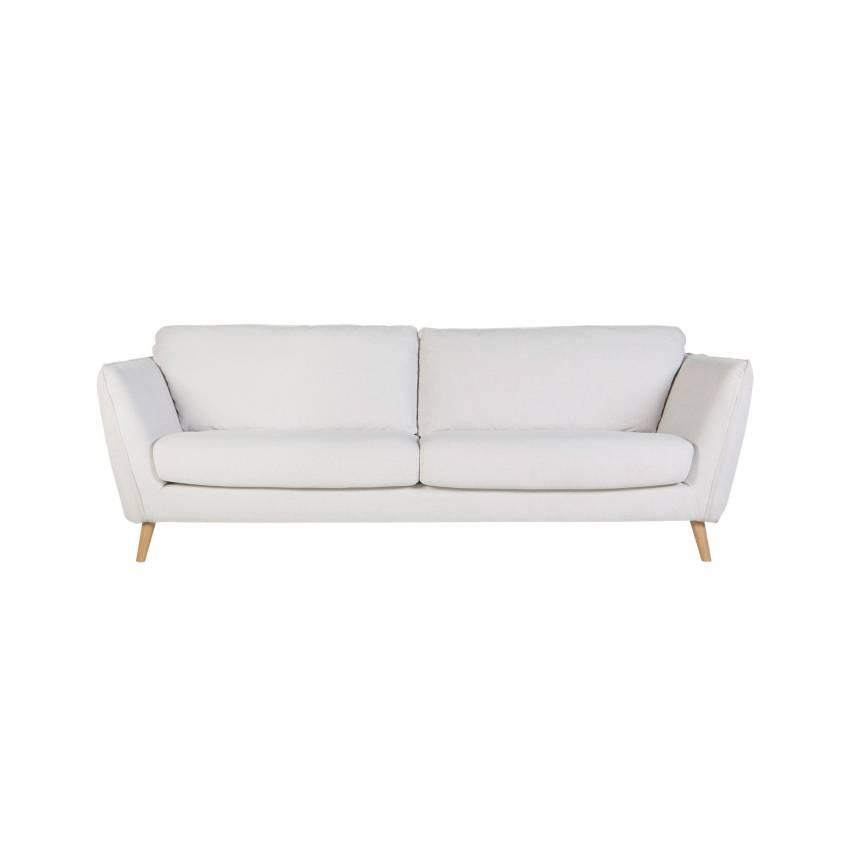 Sits / Canapé STELLA 2 ou 3 places en tissu blanc cassé