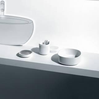 Alessi / Porte-savon BIRILLO blanc